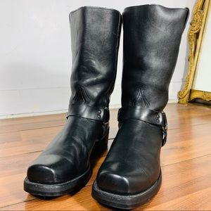Boulet leather motorcycle boots
